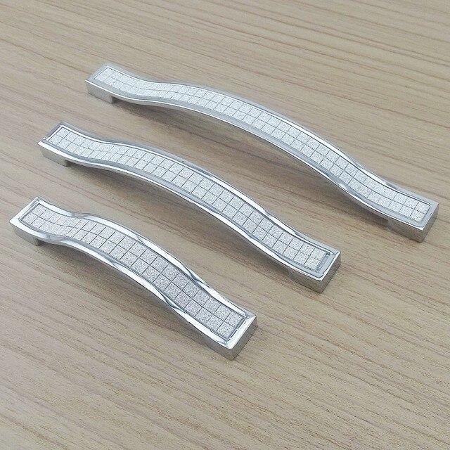 Moderne Silber Kristall Möbel Hardware Griffe Küche Schränke ...