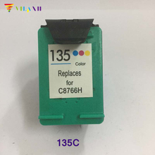 1pcs Compatible for HP 135 Color Ink Cartridge C8766H DJ 6840 5740 Photosmart 2710 2610 C3183 D5163 7800 Printer