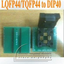 2 шт./лот LQFP44/TQFP44 для DIP40(TQFP44 для DIP40 LQFP44 для DIP40) программатор IC адаптер разъем PCB