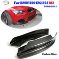 E90 E92 E93 M3 Front Bumper Side Splitter For BMW E90 E92 E93 M3 2008 2009 2010 1011 Car Styling Body kit Splitters Apron
