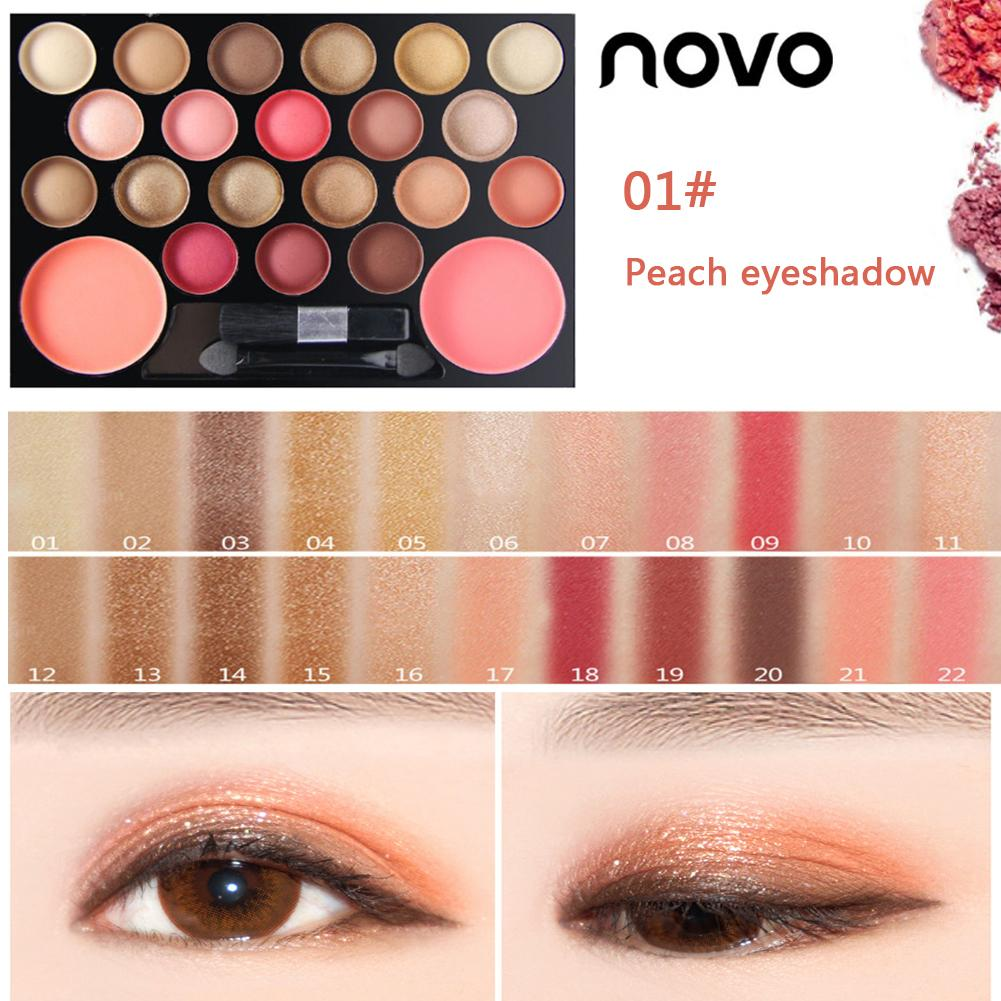 Lameila 16 Colors Natural Makeup Eye Shadow Pearlescent Matte Earth Tone Makeupbrighten Skin Colour Dress Up Your Beauty Beauty & Health