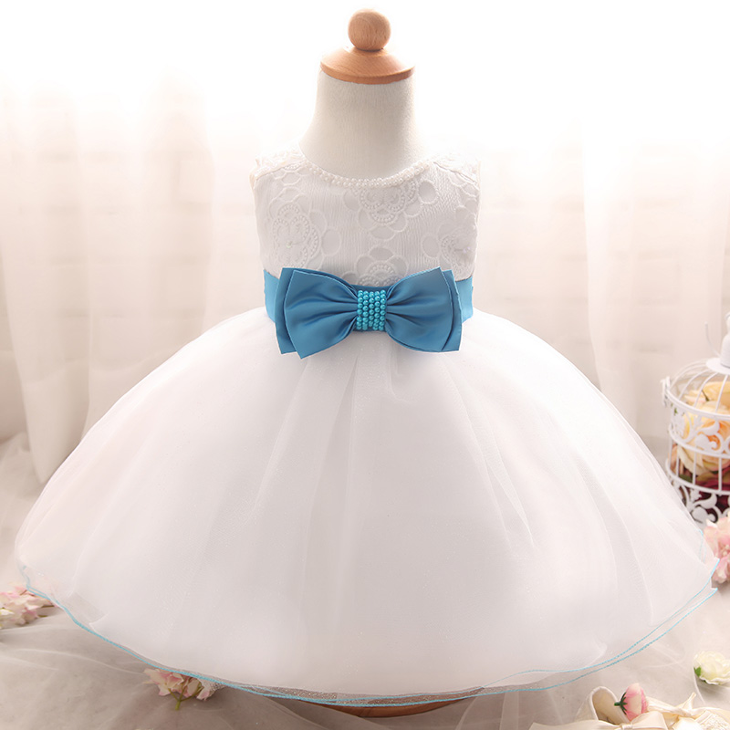 Newborn Baby Infant Dresses For Wedding White Baptism Clothes ... 6dbd4357003b