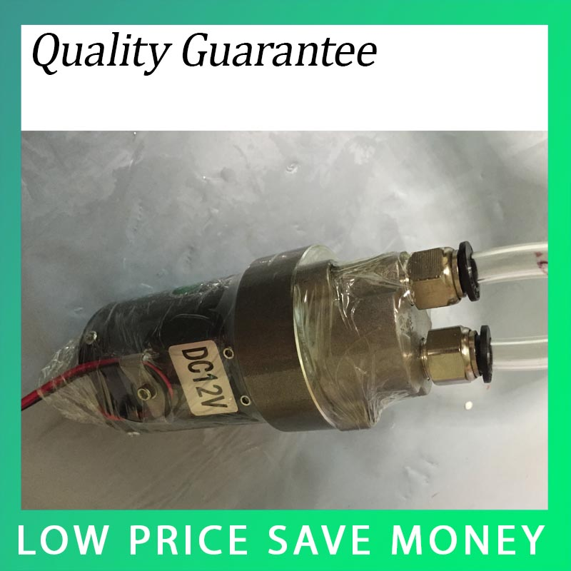 ФОТО 12V Gear Oil Pump Self Priming Waste Oil Pump