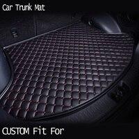 car ACCESSORIES Custom fit car trunk mat for Ford Edge Escape Kuga Fusion Mondeo Ecosport Explorer Focus Fiesta travel non slip