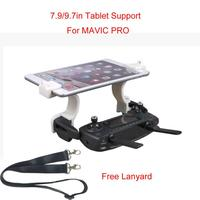 Good Sale 7.9 -9.7'' Mobile Tablet Holder Mount Bracket Lanyard RC For DJI MAVIC PRO/iPad M22