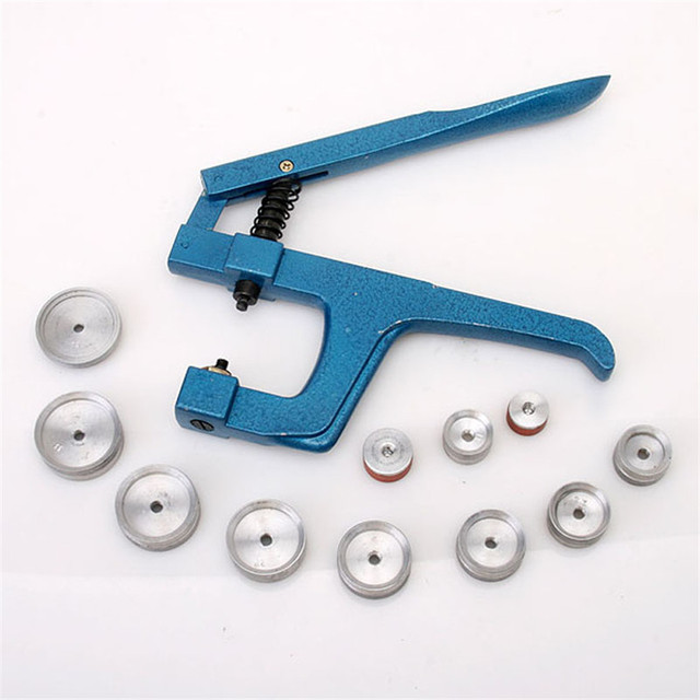 Hot Unique Watch Repairing Crystal Press Case Bezel Closng Press Pliers Tool Drop Shipping F49