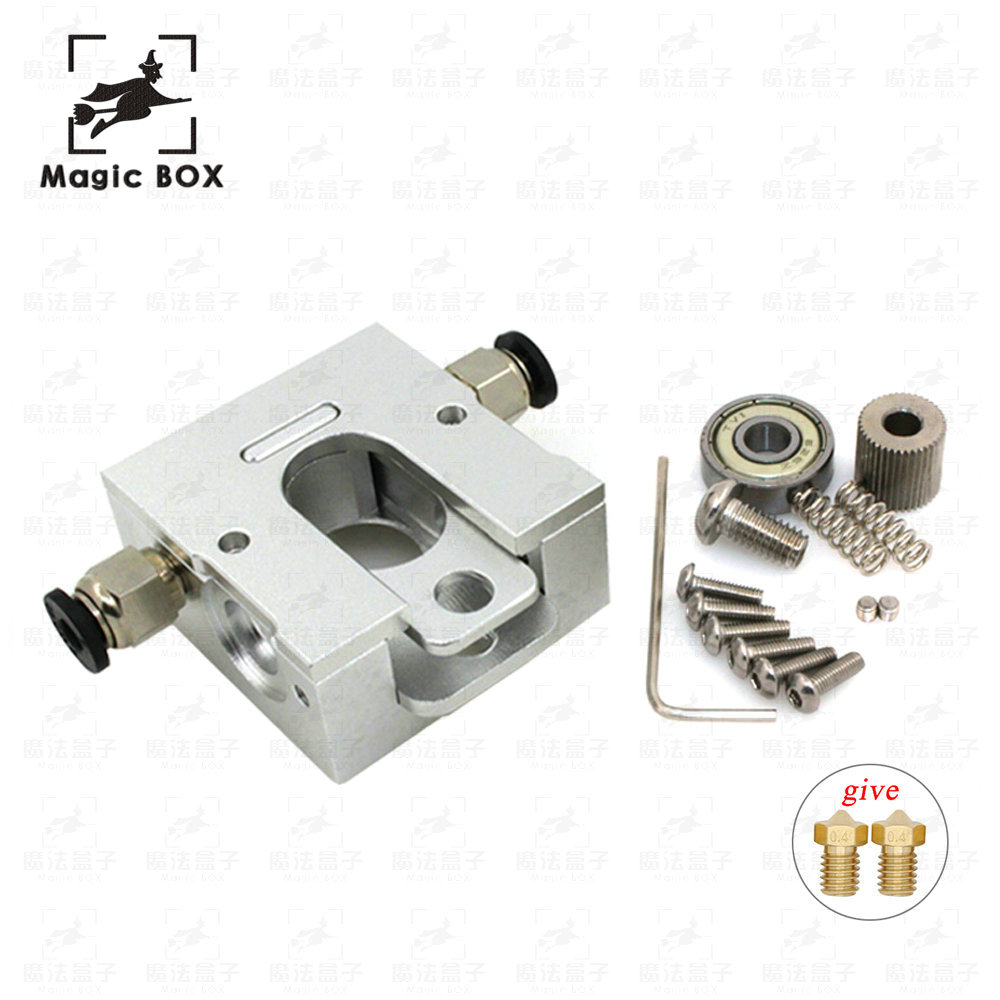 3D Printer parts Bulldog Extruder All-metal for 1.75mm Compatible J-head MK8 Extruder DIY