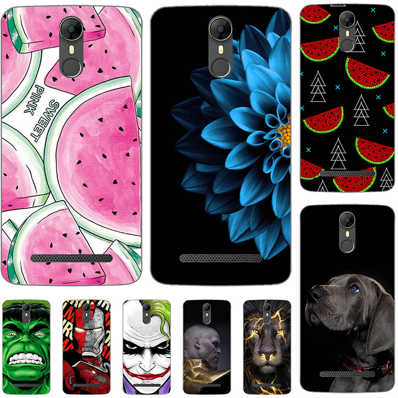 Lovely Fashion Painted Case For <font><b>Homtom</b></font> HT27 Case Silicone Soft TPU For <font><b>Homtom</b></font> <font><b>HT</b></font> <font><b>27</b></font> Cover Coque Flamingo Spiderman Bags 5.5 inch image