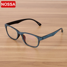 NOSSA Excellent Vintage Men's Glasses Frame Retro Men's Points Eyeglasses Frames Elegant Male Female Goggles Optical Eyewear