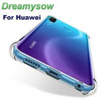 Chống sốc Trong Suốt Silicone Mềm Ốp Lưng Armour Case Dành Cho Huawei Honor 10i 10 Lite 8A 8 S 9 Note10 trong Cho p30 P20 Y6 Y7Pro 2019(China)