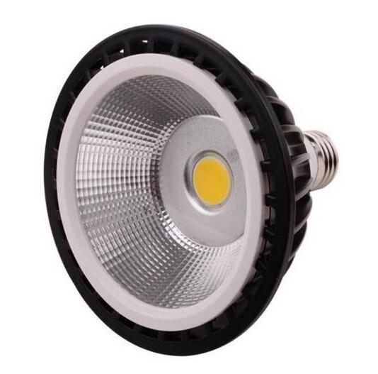 Wholesale price high power AC110-260V Dimmable Par30 Par38 LED COB 20W 15W Led Spotlight E27 Light Lamp warm cold white