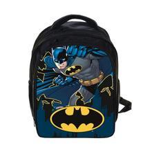 Горячая Мешок Ребенка Ребенок прохладно малыш мальчики Бэтмен Мешок для детей рюкзаки детский сад рюкзак дети девушки Ранцы