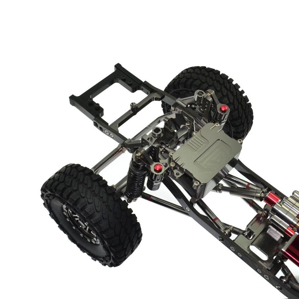 1PCS Metal 1/10 Rc Rock Crawler Scx10 Frame Land Cruiser Lc80 Car ...
