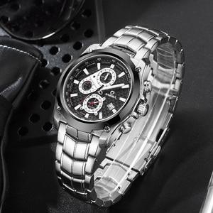 Image 2 - CASIMA Mens Chronograp Sport Watch Fashion 100M Waterproof Diver Military Quartz Wrist Watch Clock Men saat Relogio Masculino