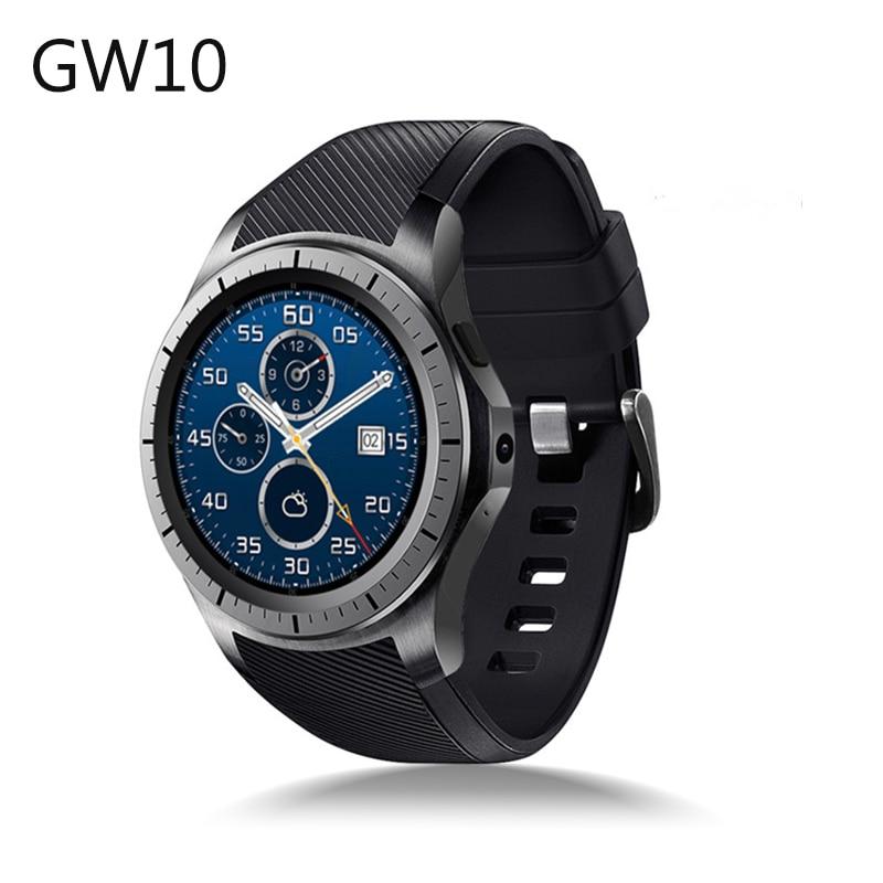 GW10 Bluetooth SmartWatch Support 3G Sim Card WiFi GPS Heart Rate Fitness Tracker MTK6572 Android 5.1 Dual Core Smart Watch heart rate smart watch wristwatch reloj inteligente z01 support 3g sim tf card wifi gps mp3 mp4 fitness traker bluetooth camera