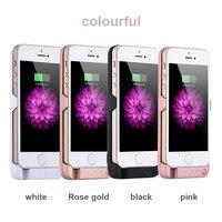 สำหรับiPhone 6/iPhone 6วินาทีขยายแบบชาร์จแบตเตอรี่กรณีที่สร้างขึ้นในUSB Power Bankกับ5800มิลลิแอมป์ชั่วโม