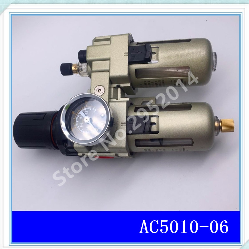 все цены на AC5010-06 Oil and water separator filters Air compressor regulating valve Two air filters AW5000-06+AL5000-06