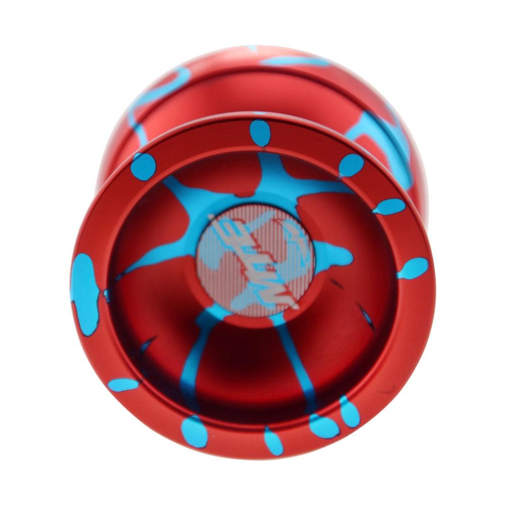 חדש מגיע חינם משלוח MTE YOYO מקצועי פרפר מתכת yoyo מתנה הטובה ביותר לילדים 2 צבע יכול לבחור