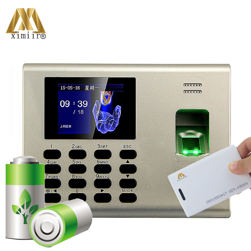Biometric Fingerprint Access Control K40 Linux System With 125KHZ RFID Card And Time Attendance Built In