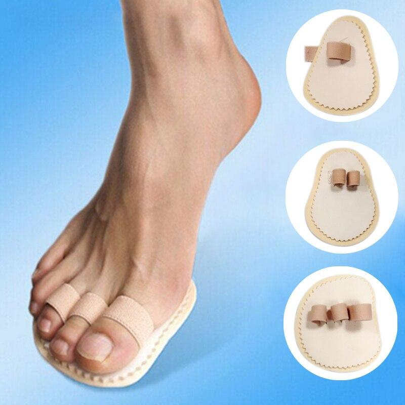 ᐂ1/2/3-Toe Überlappenden Crooked Fußschutz Fußpflege Hallux Valgus ...
