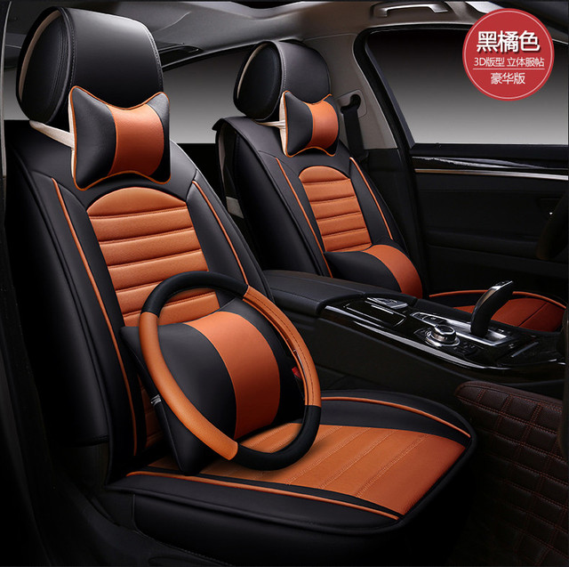 Automotive Seat Covers Pu Leather Cushion For ROVER 75 MG TF 3 6