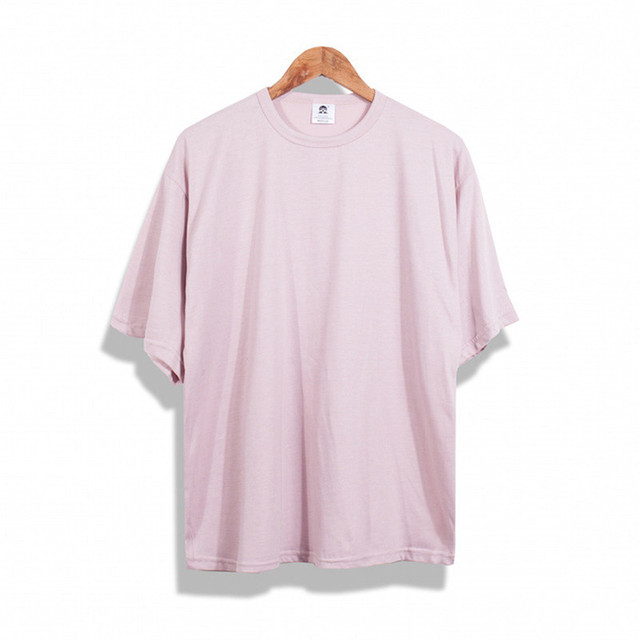 Hombres hip hop camiseta streetwear hombres justin bieber hiphop punk ropa  tamaño grande color rosa camiseta 1d1b7caae96