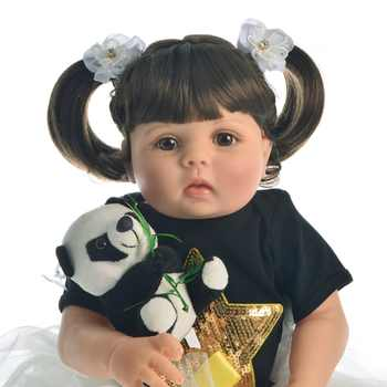 KEIUMI 23 Inch Realistic Reborn Dolls Full Body Silicone Pure Handmade Baby Toy For Sale Children Birthday Christmas Gift