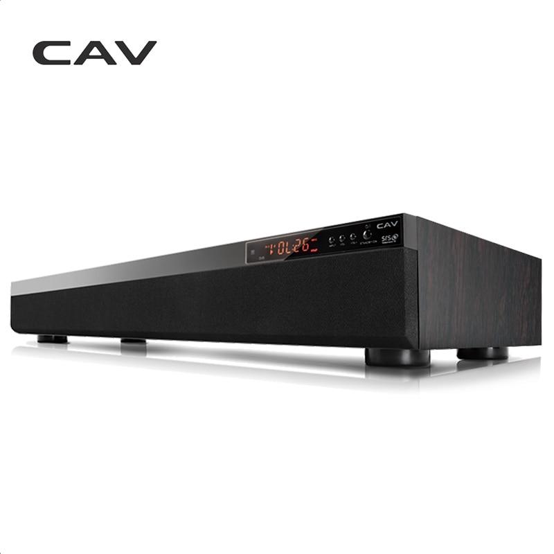 CAV TM900 Bluetooth Soundbar 3.1CH DTS Surround di Legno Home Theater Wireless 3D Stereo Colonna Bar Suono di Musica Per La TV Coassiale AUX