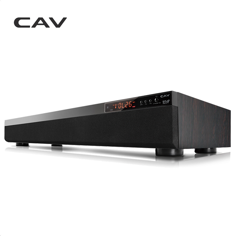CAV TM900 Bluetooth Soundbar 3.1CH DTS Surround Home Theater Sem Fio De Madeira 3D Coluna Barra de Som Estéreo Música Para TV Coaxial AUX