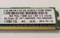00D4987 00D4985 for 8G 2RX8 PC3L-10600R 1333 VLP Memory well tested working