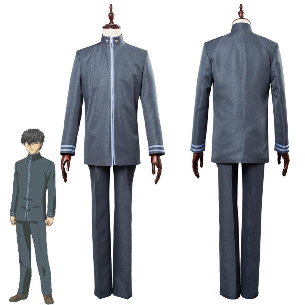 Full Metal Panic! Invisible Victory Sousuke Sagara School Uniform Cosplay Costume