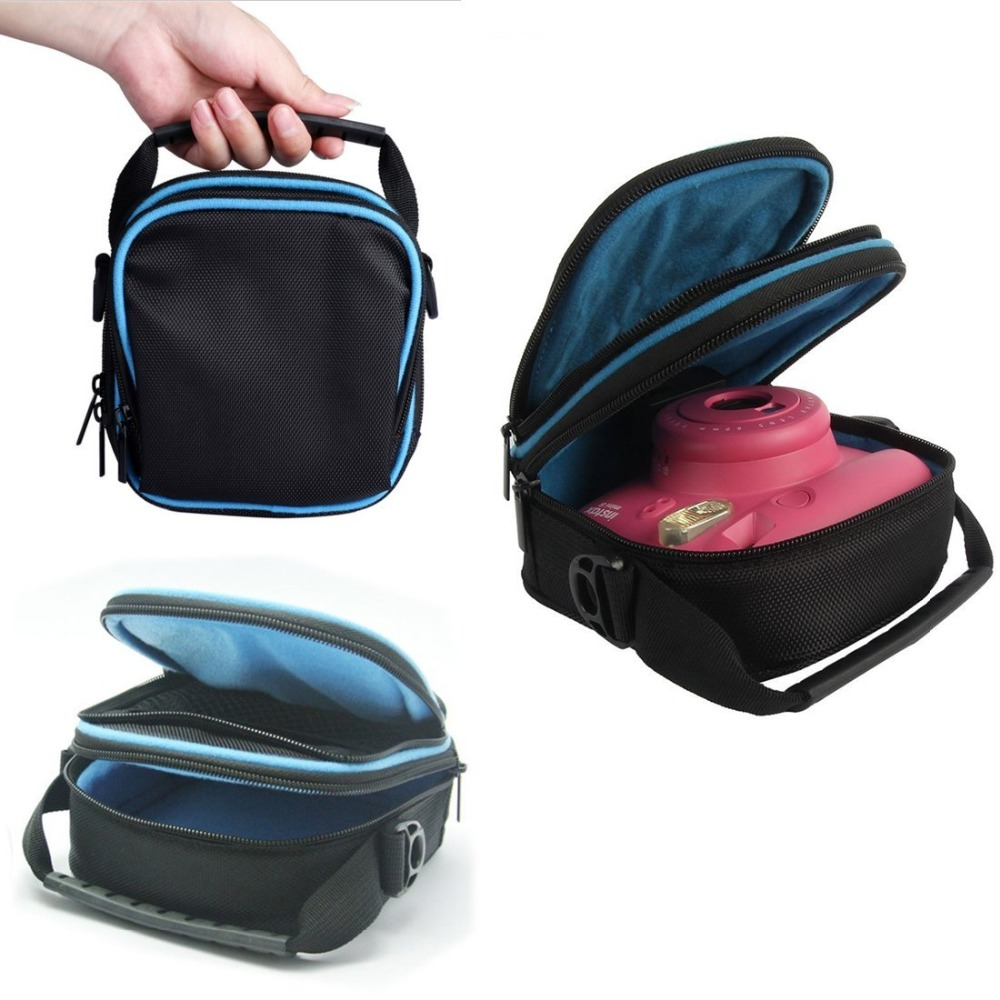 bilder für Eva case schützt und speichert für fuji fujifilm instax mini 8 7 s 25 instant filmkamera soft-tragetasche lagerung travel case tasche