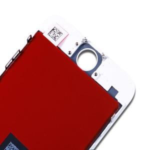 Image 3 - AAA + + + איכות עבור iPhone 5 5S 6 6s 7 LCD תצוגת מסך מגע עבור 4 4S 8 בתוספת SE 100% חדש לגמרי LCD Digitizer מזג + מתנות
