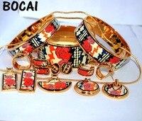 009 перегородчатой эмали ювелирных изделий европейского и американского стиля 4 шт. комплекты