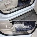 Нержавеющая Сталь Верхней Накладки На Пороги/Скребок/Порог Внутренняя 4 шт. Для 2008-2013 VW TIGUAN
