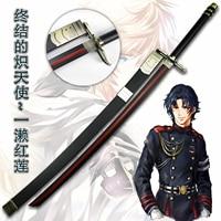 Seraph of The End Guren Ichinose Sword Anime Cosplay Prop Cosplay Prop Sword Home Decor Free Shipping