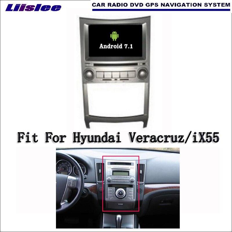 Android 7.1 2G RAM For Hyundai Veracruz/iX55 Car Radio Audio Video Multimedia DVD Player WIFI DVR GPS Navi Navigation цена