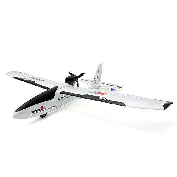 XK A1200 3D6G 5.8 Г FPV 2.4 Г S FHSS 6CH EPO RC Самолет, Планер RTF Режим 2