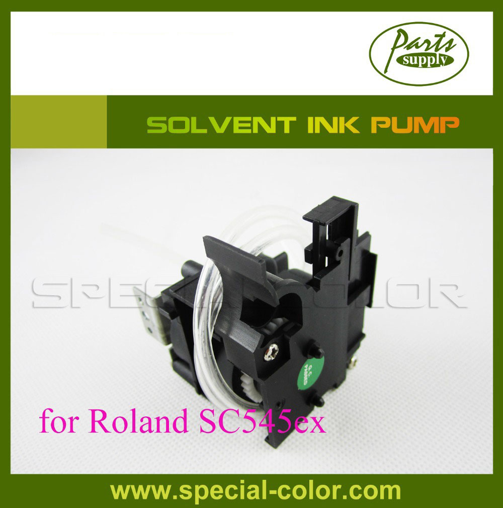 High Quality DX4 solvent Printer SP540/300 ink pump for Roland SC545ex 300 400ml min 24v dc jyy brand big ink pump for solvent printer with free shipping cost by dhl