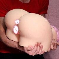 12 кг большая секс кукла Мужская мастурбатор чашка Толстая большая жопа и киска Вагина пенис насос игрушки для взрослых игрушки для мужчин В