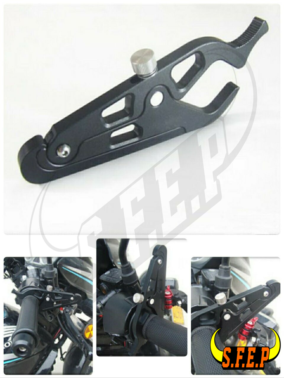 Motorcycle Cruise Lever : Universal motorcycle cruise control throttle lock system