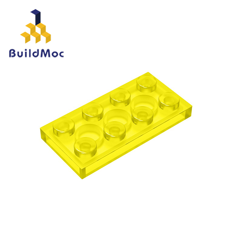 BuildMOC Compatible Assembles Particles 3020 2x4 For Building Blocks Parts DIY LOGO Educational Creative Gift Toys