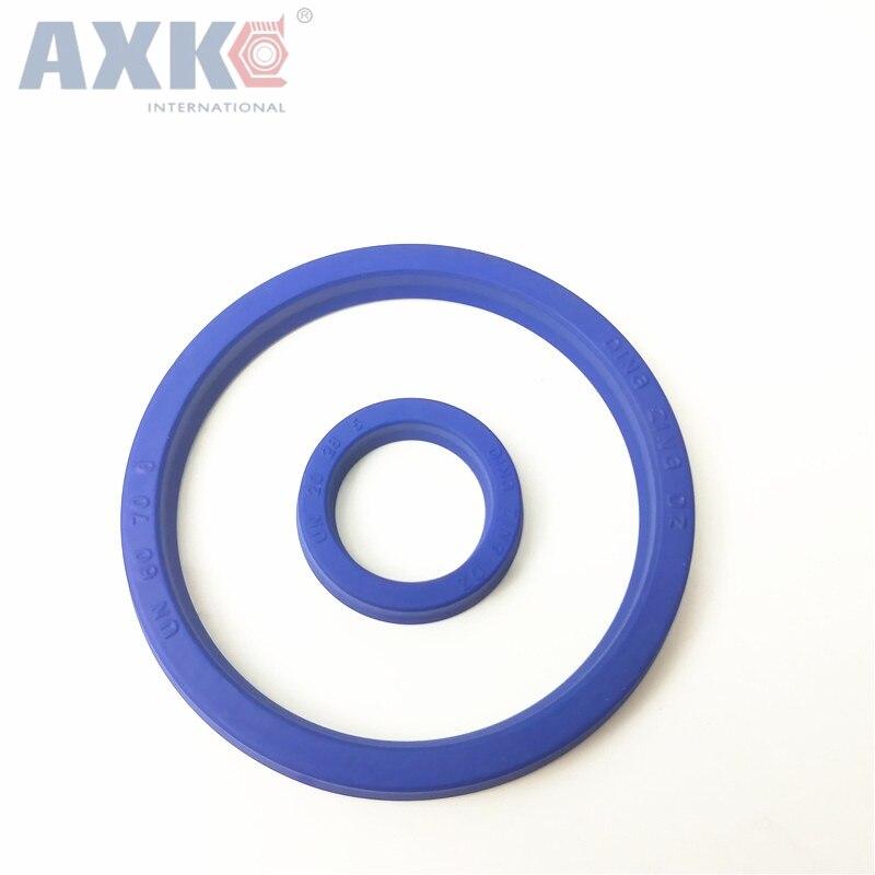 AXK U cup joint 240x205x15/320x285x15 simple lèvre hydraulique cylindre piston joint U anneau polyuréthane (PU) caoutchouc