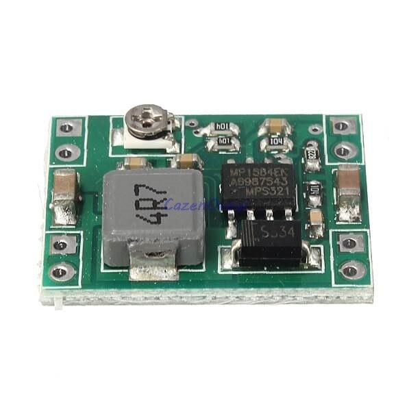 2 teile/los Mini Converter Einstellbare DC-DC Step down Power Supply Module ersetzen LM2596 neue