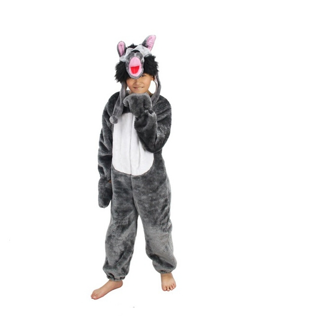 Wolf Costume Cosplay For Kids Halloween Costumes Clothing for Children Kids Girls Boys  sc 1 st  AliExpress.com & Wolf Costume Cosplay For Kids Halloween Costumes Clothing for ...