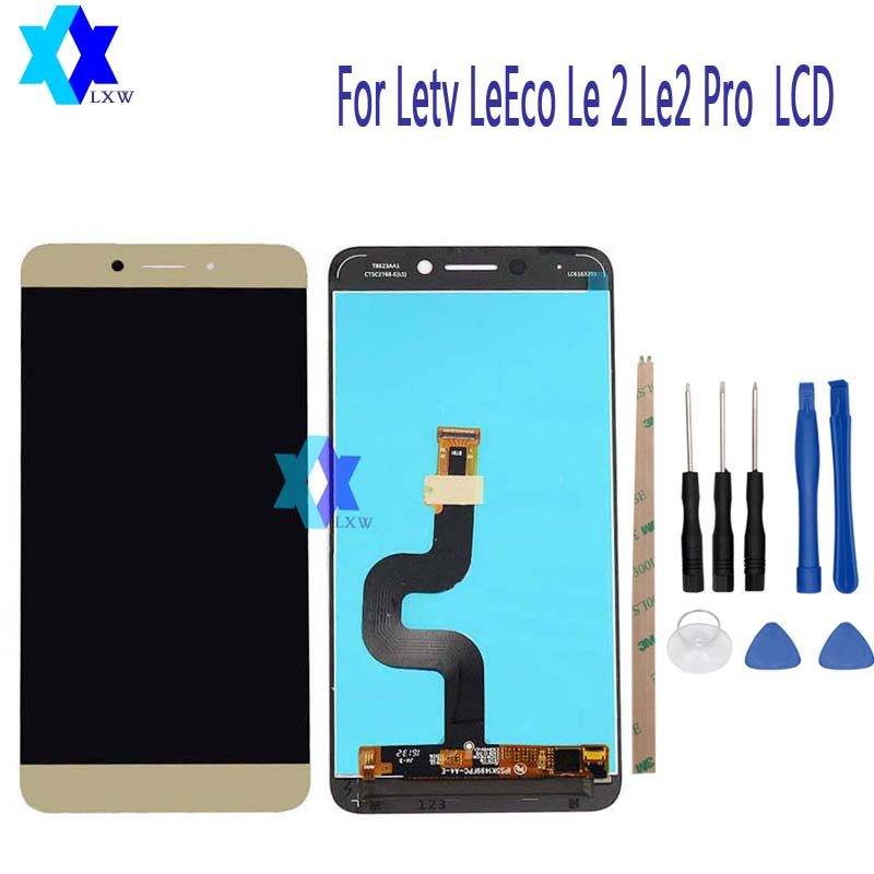 5.5 For Origina For Letv LeEco Le2 Le2 Pro X620 X520 X526 X527 LCD Display+Touch Screen Digitizer Assembly Replacement