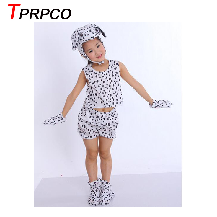 tprpco children kids baby cartoon animal dalmatian dog costume cosplay clothing childrens day halloween costumes jumpsuit