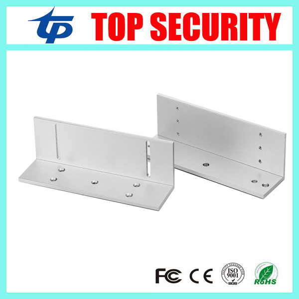 280KG Z bracket for access control system narrow door EM lock install Z bracket for 600LBS magnetic lock