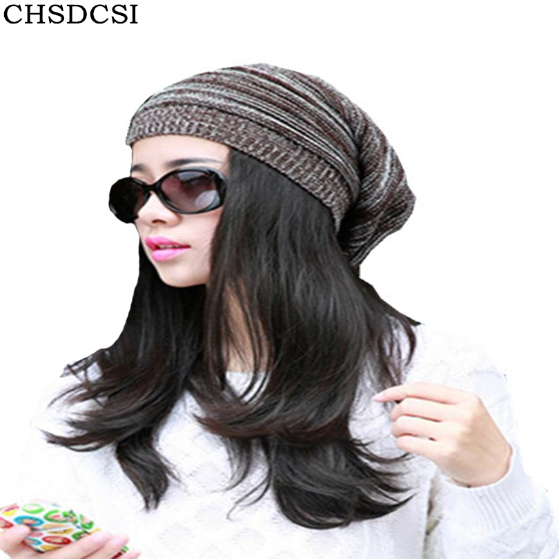 CHSDCSI Spring Men Women Knitted Winter Caps Chapeu Casual Beanies For Solid Hip-hop Slouch Skullies Bonnet Unisex Cap Hat Gorro sn su sk snowboard gorros winter ski hats skating caps skullies and beanies for men women hip hop caps knitting bonnet chapeu
