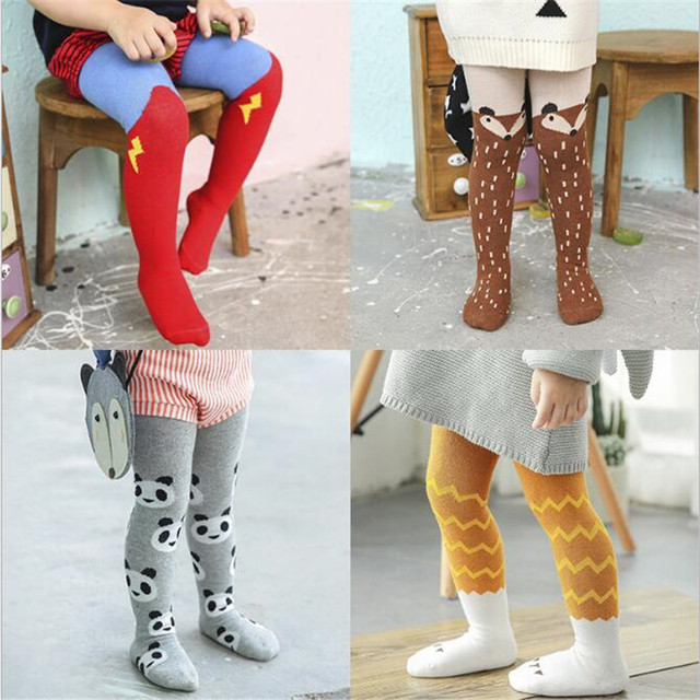 0f6ccfebe748f3 YWHUANSEN 0-3 Years Cartoon Boys Girls Pantyhose Popular Cotton Tights for  Baby Boys Girls